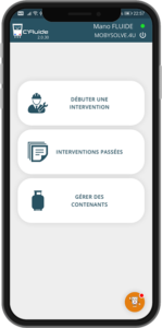 Nouveau desing de l'application C'Fluide