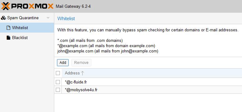 CFluide_Anti-spam-Proxmox