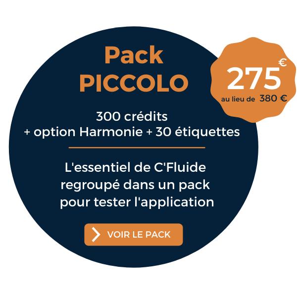 Offre promo Printemps 2021 pack PICCOLO