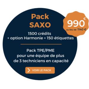 Offre promo Printemps 2021 pack SAXO